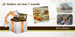 Carte cadeau Restaurant Traiteur
